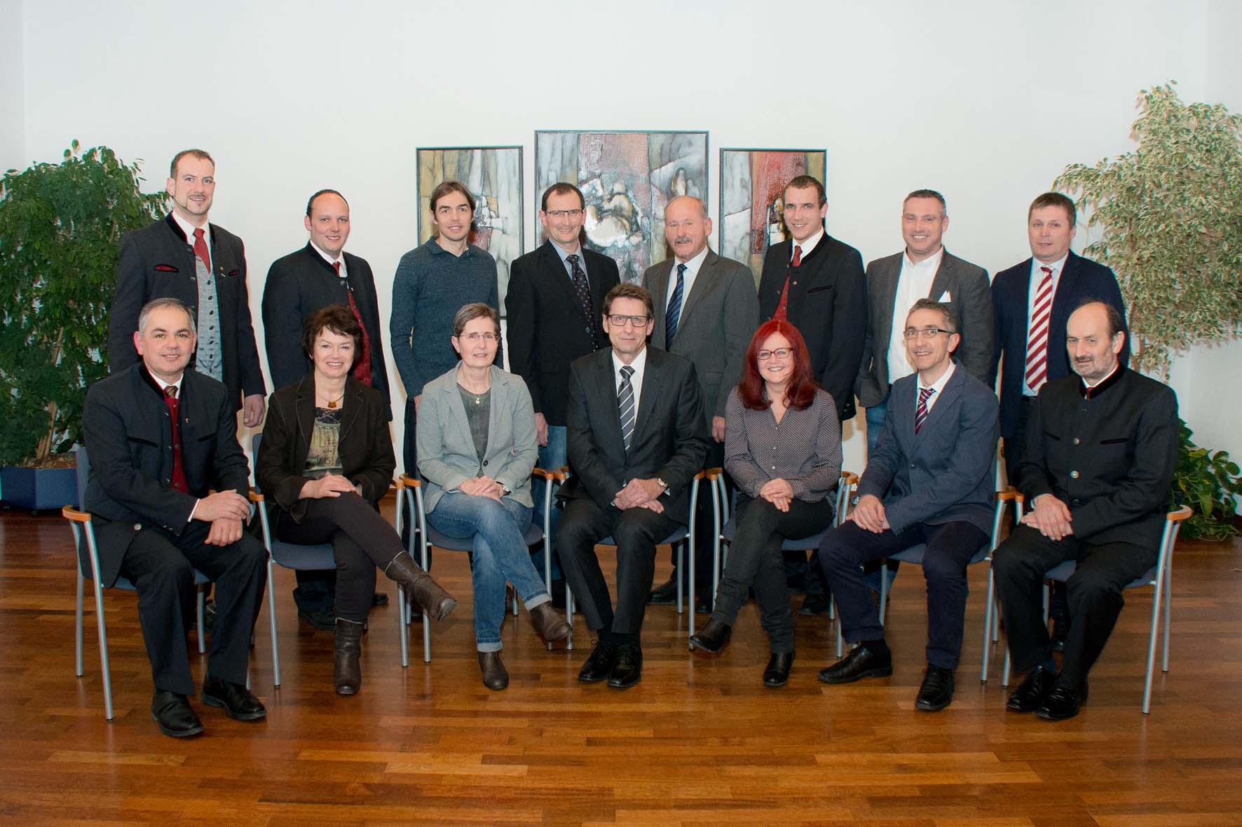 Gemeinderat 2016 bis 2022