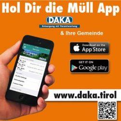 Holen Sie sich die neue DAKA-Müll-App