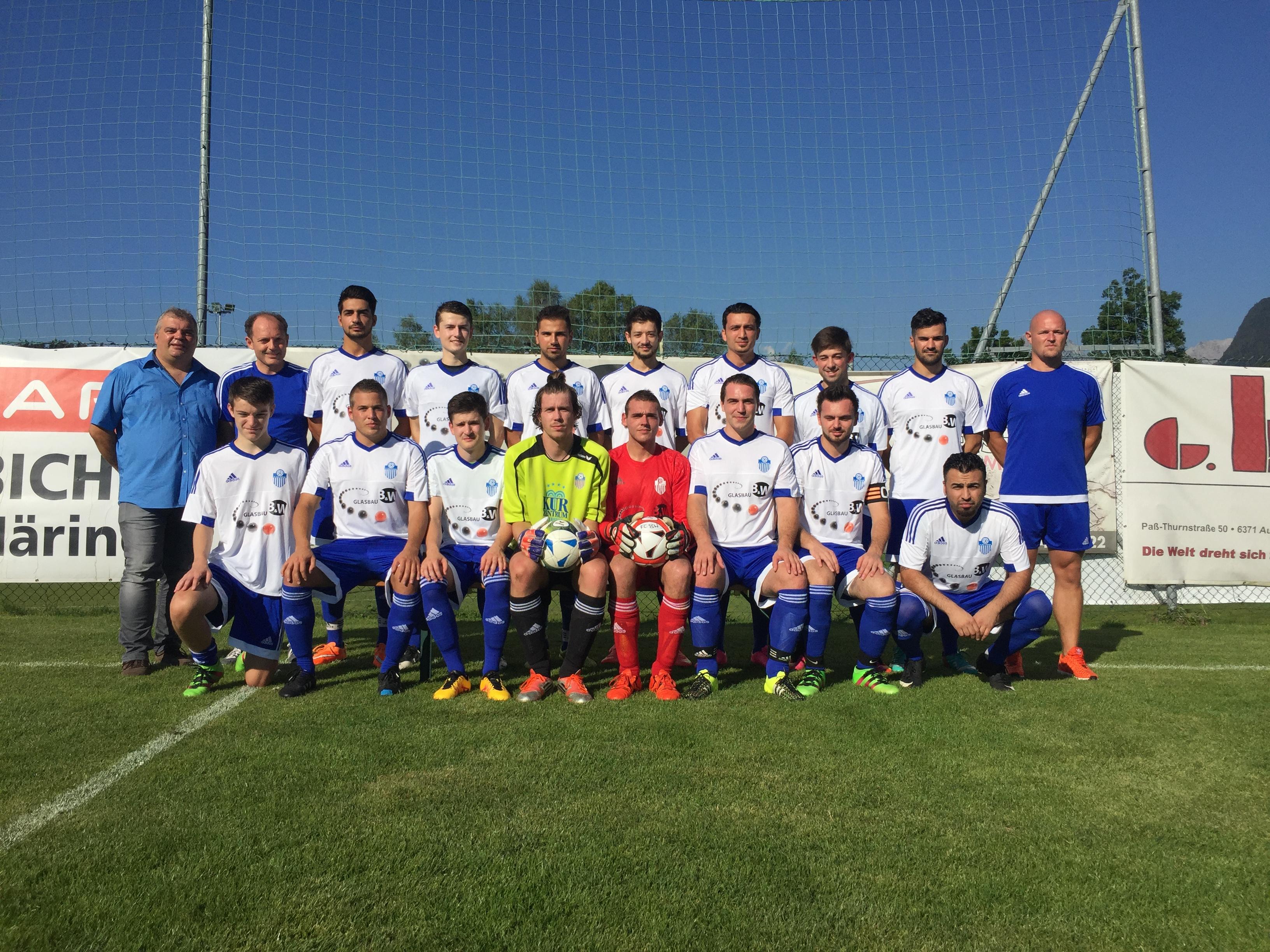 FC Bad Häring: Neue Dress für die Kampfmannschaft
