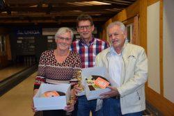 Liesi Zierl und Georg Schopper sind die neuen Kegel-Dorfmeister
