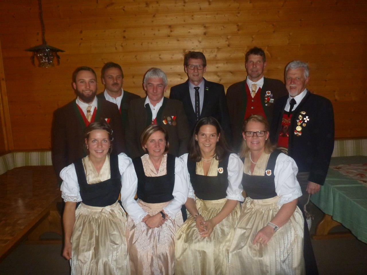 69. Jahreshauptversammlung des Landsturm 1809 Bad Häring