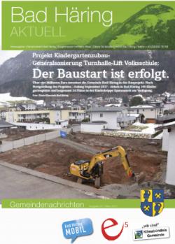 Die neue Ausgabe von Bad Häring Aktuell ist da!
