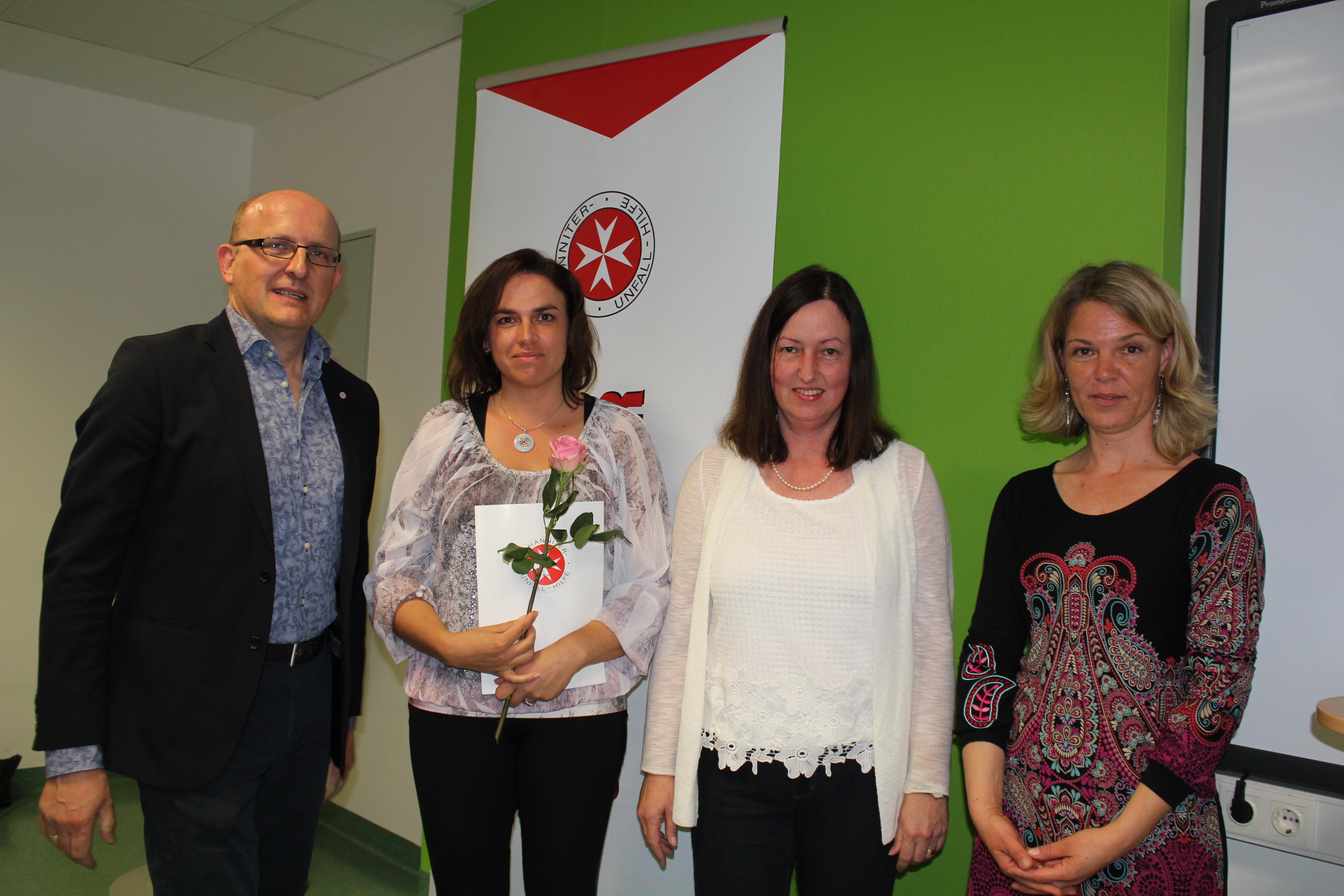 DGKS Sonja Kurz übernimmt nach erfolgreich absolvierter Weiterbildung die Pflegedienstleitung in unserem Wohn- und Pflegeheim