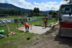 Spielplatz beim Fußballplatz erhält WC-Anlage