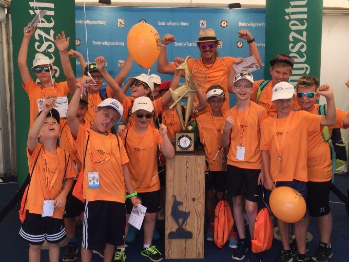 Bad Häringer Tennisnachwuchs besucht die Generali Open in Kitzbühel