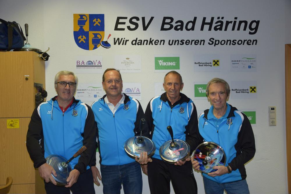 Tiroler Meisterehren für Bad Häringer Stockschützen