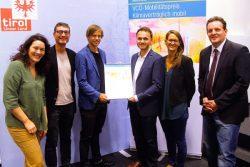 Tiroler Fahrradwettbewerb gewinnt VCÖ-Mobilitätspreis