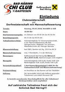 Clubmeisterschaft Schiclub und Dorfmeisterschaft im Schifahren @ Skiwelt Hochsöll Stöckl-Lift