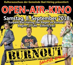 Open Air Kino im Kurpark Bad Häring @ Kurpark Bad Häring | Bad Häring | Tirol | Österreich
